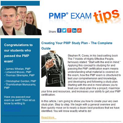 Weekly Exam Tips Newsletter